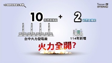 Will Taichung Power Plant Fully Operate All 12 Units simultaneously in the Future?